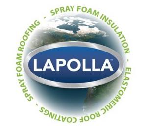Lapolla Spray Foam Globe logo