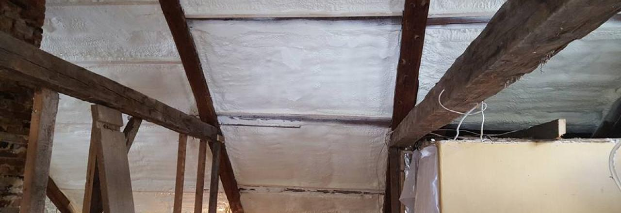 Dixfield Spray Foam Work